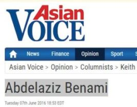 Abdelaziz Benami interview with Asian Voice
