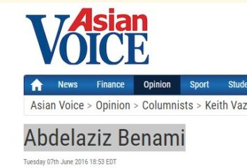 Aziz Benami interview with Asian voice
